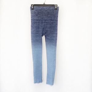 Yelete leggings ombre blue Size Small